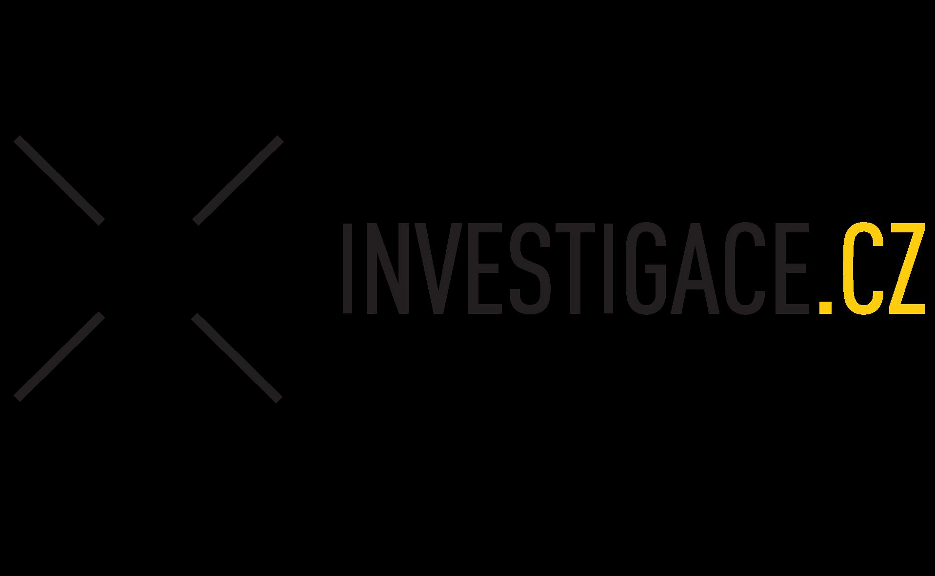 České centrum invetsigativní žurnalistiky logo
